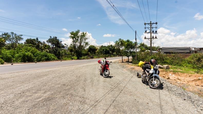 Vietnam op de motor
