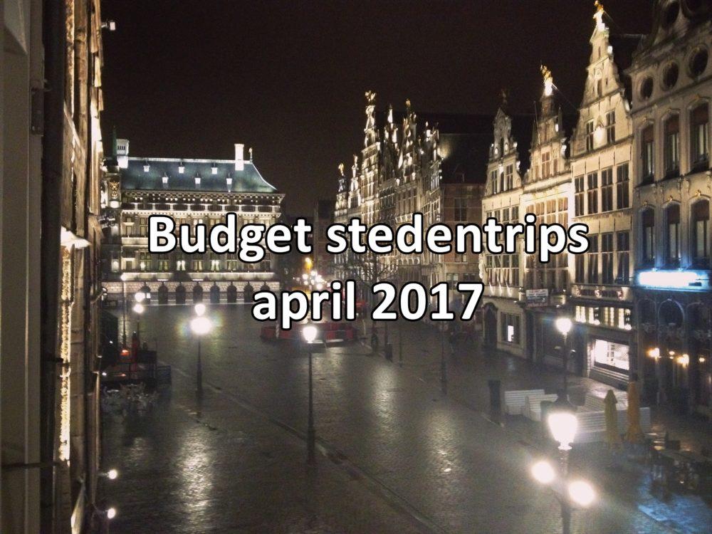 budget stedentrips april 2017