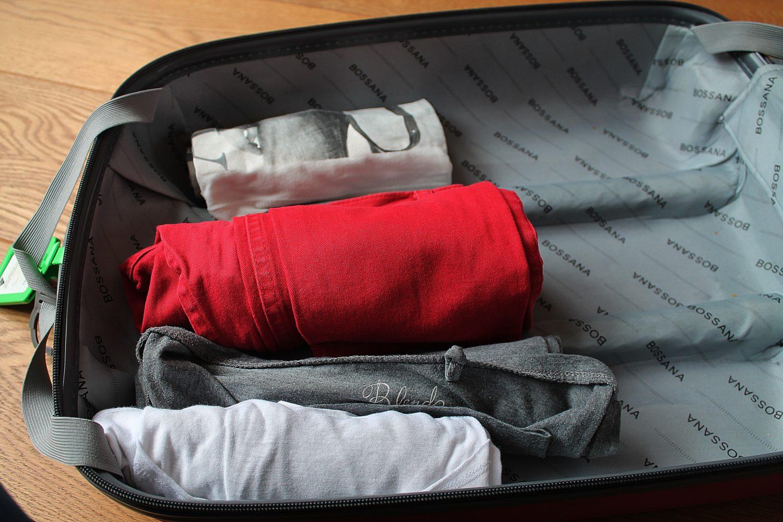 inpakken van je koffer