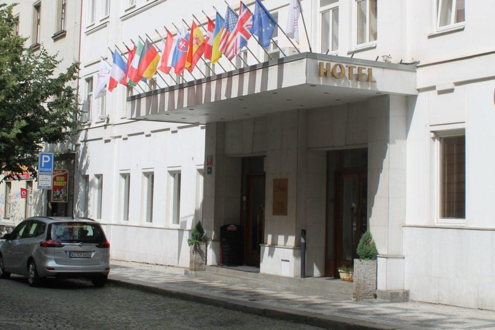 Hotel tip Praag