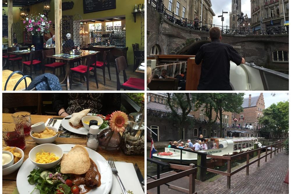 Rondvaren en dineren in Utrecht