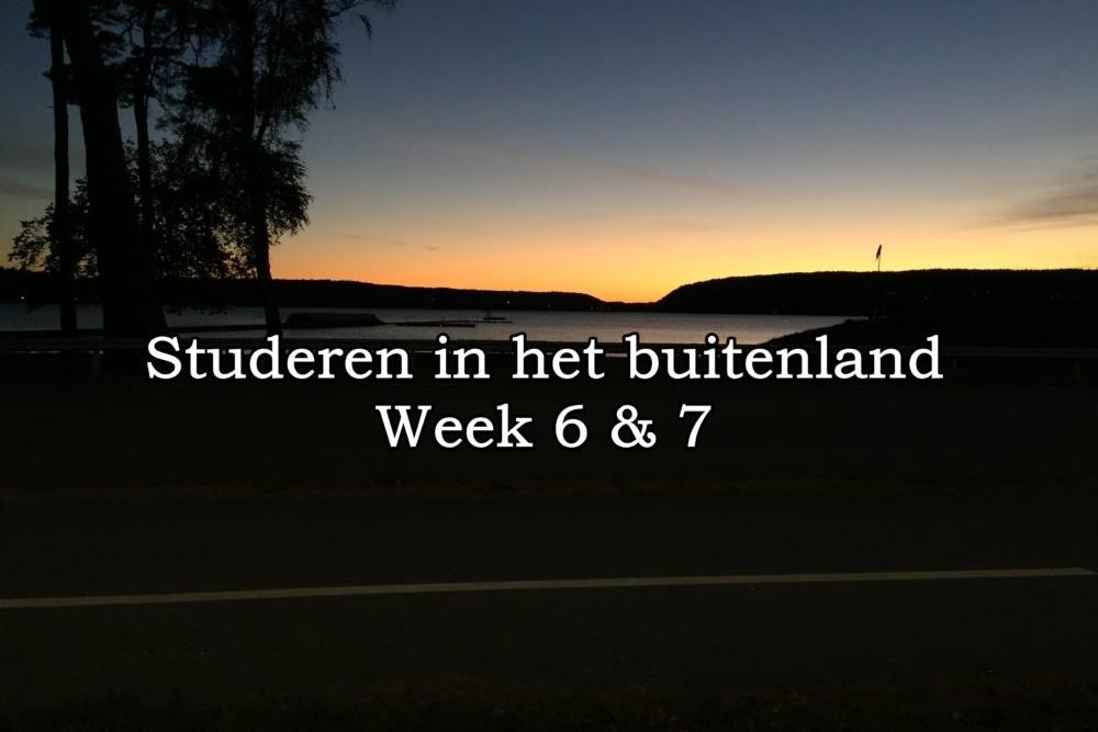 Week 6 & 7