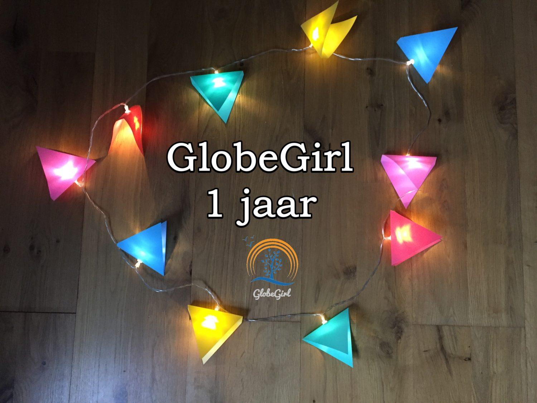 GlobeGirl bestaat 1 jaar!