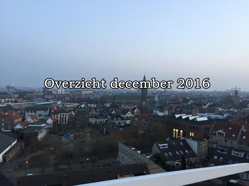 Overzicht van december
