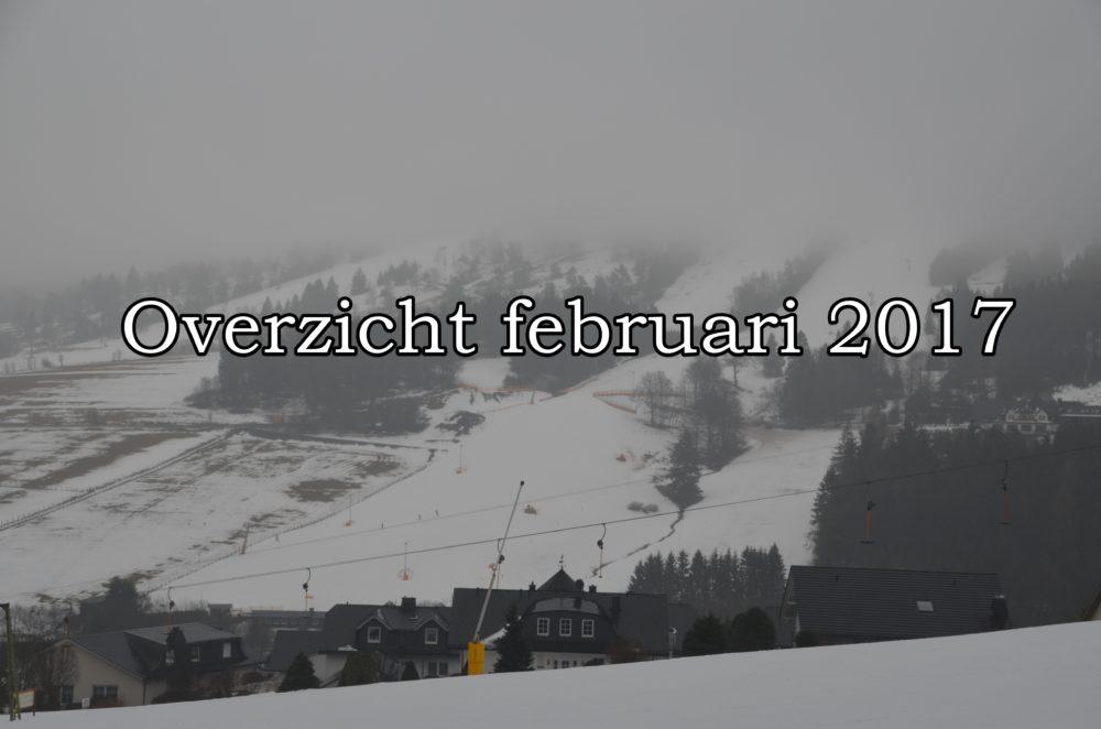 Overzicht van februari 2017