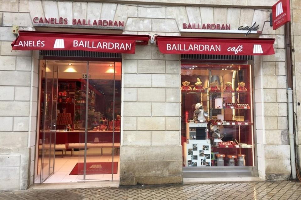 Canelé bij Baillardran