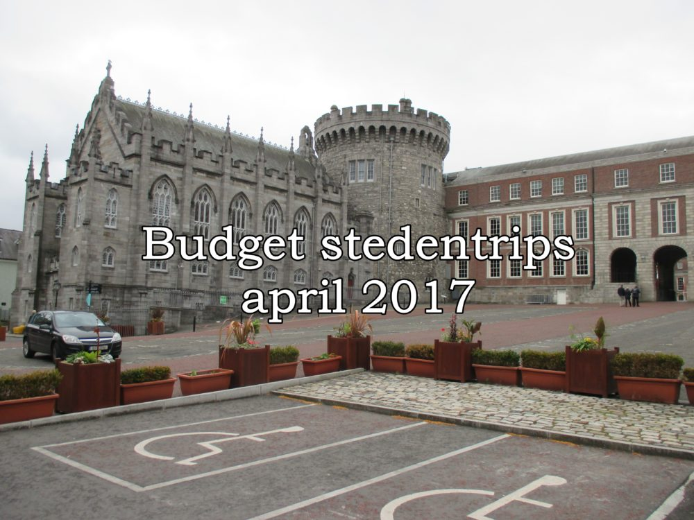 Budget stedentris april 2017