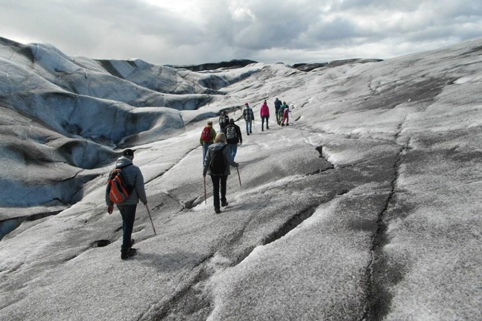 Gletsjerwandeling Vatnajökull