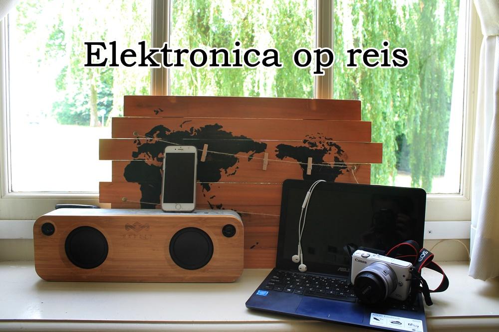 Elektronica op reis