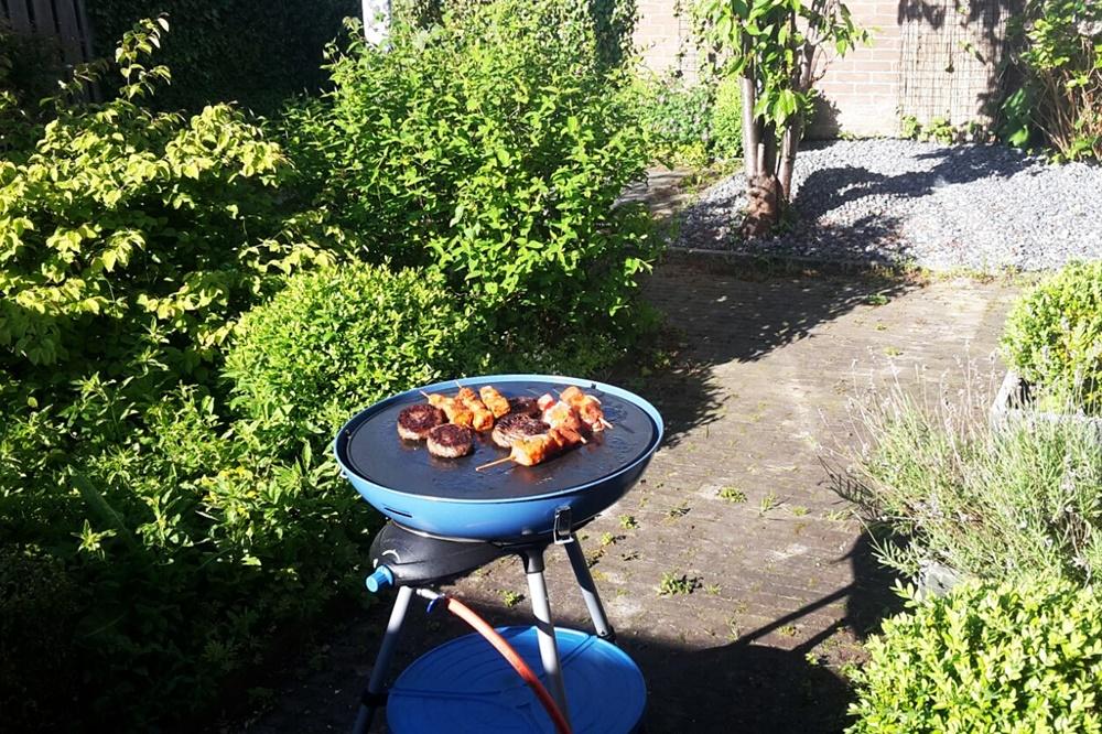 barbecueën op vakantie