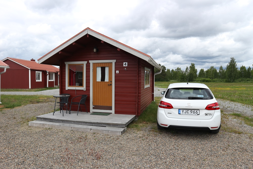 accommodaties in Zweeds Lapland in de zomer