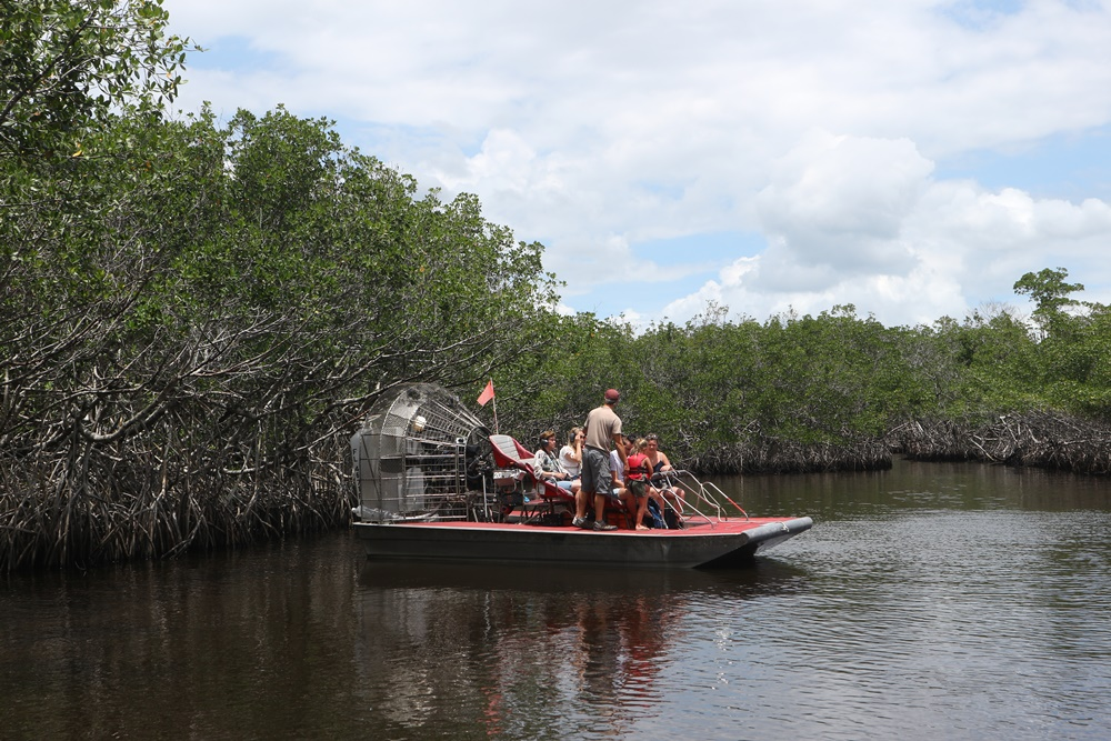 Boottocht in de Everglades