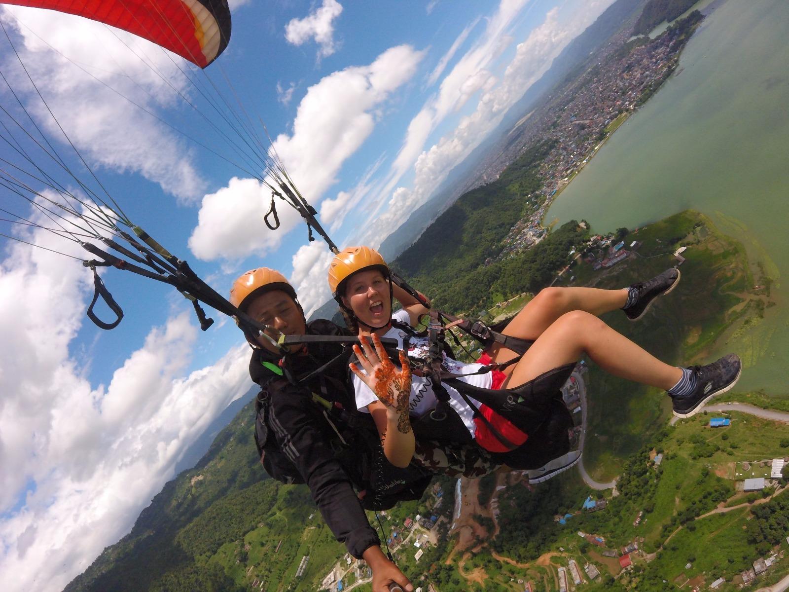 paragliding pokhara