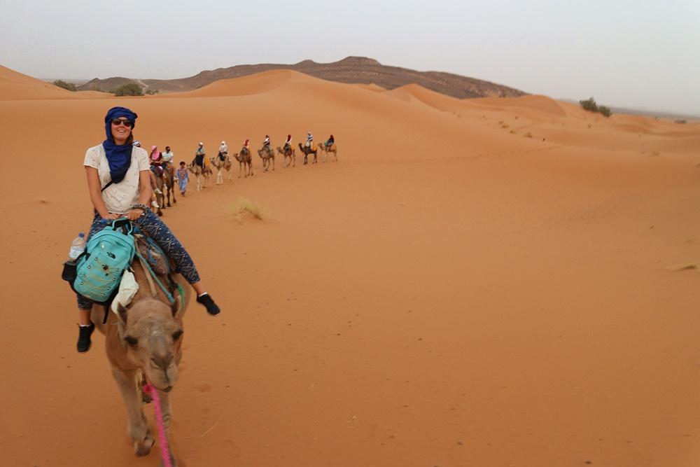 kamelentocht Erg Chebbi