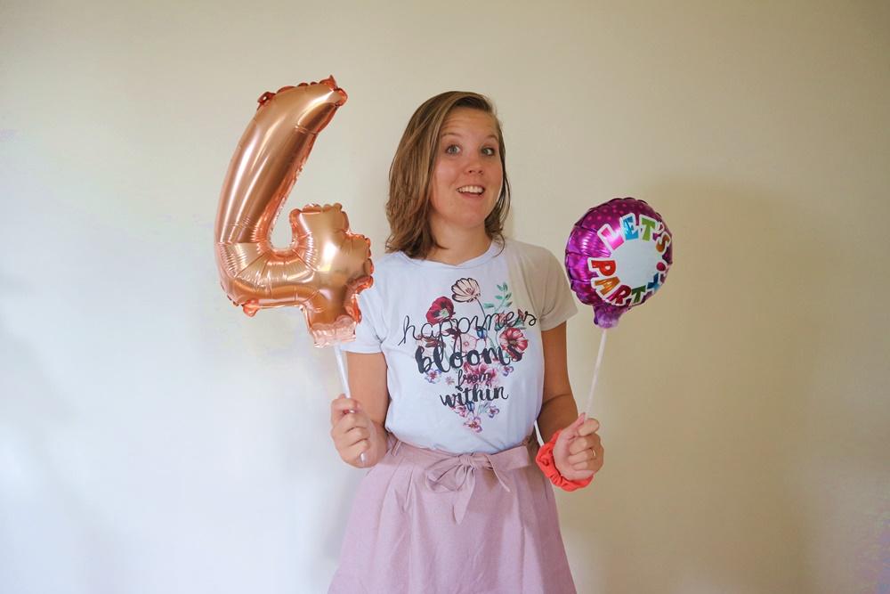 GlobeGirl 4 jaar