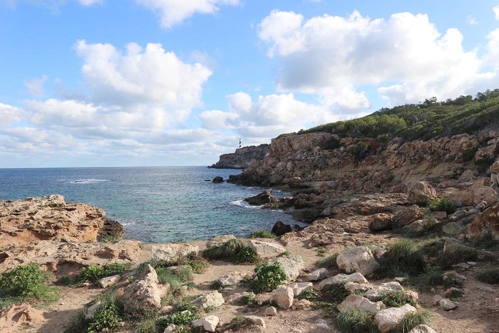 wandelen naar Punta Moscarter