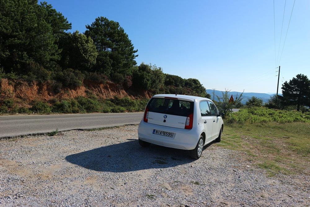 auto huren in Halkidiki