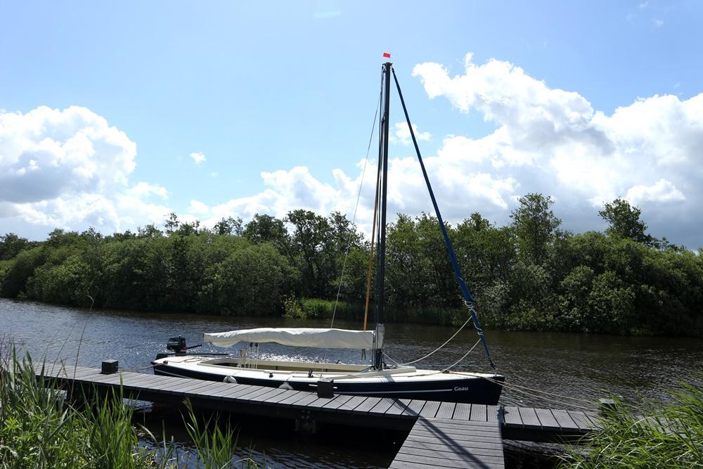 Leren zeilen in Friesland