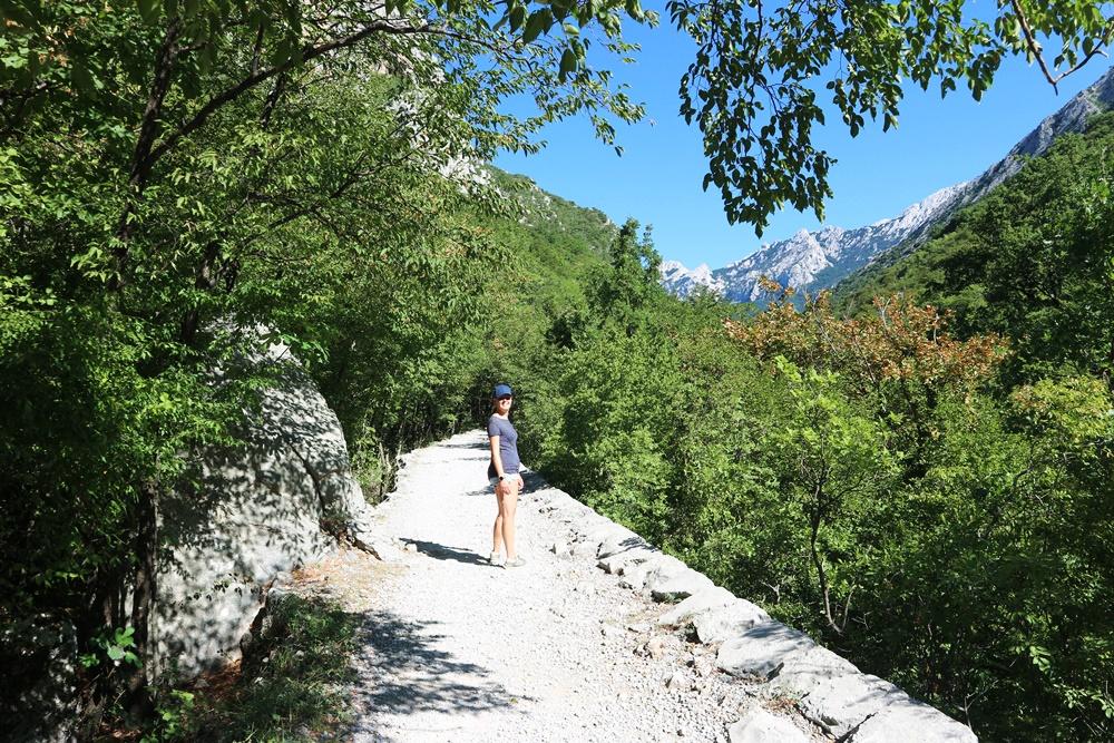 Wandelen in National Park Paklenica